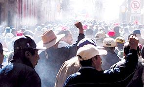 """EL P.O.R. ANTE LA """"NACIONALIZACIÓN"""" DE LOS HIDROCARBUROS EN BOLIVIA"""