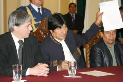 P.O.R. BOLVIANO FRENTE AL REFERENDUM REVOCATORIO DE EVO MORALES
